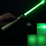 200mW 532nm Green Light with Laser Sword Golden