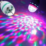 3W Colorful LED Rotating Stage Light White