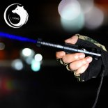 U`King ZQ-012B 450nm 2000mW One Mode Waterproof Crude Linear Spot Style Blue Light Aluminum Alloy Laser Pointer Kit Black>