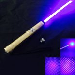 2000MW 450nm Bleu Light Star Starry style zoomable avec Laser Golden Sword>