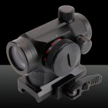 Micro Optics Dot Sight Preto mira laser funciona com bateria>