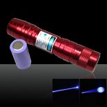 50mW 405nm Flashlight Style Blue-violet Laser Pointer>