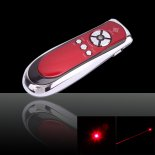 1mW 650nm Wireless Mouse Red Laser Pointer Presenter with USB Receiver>