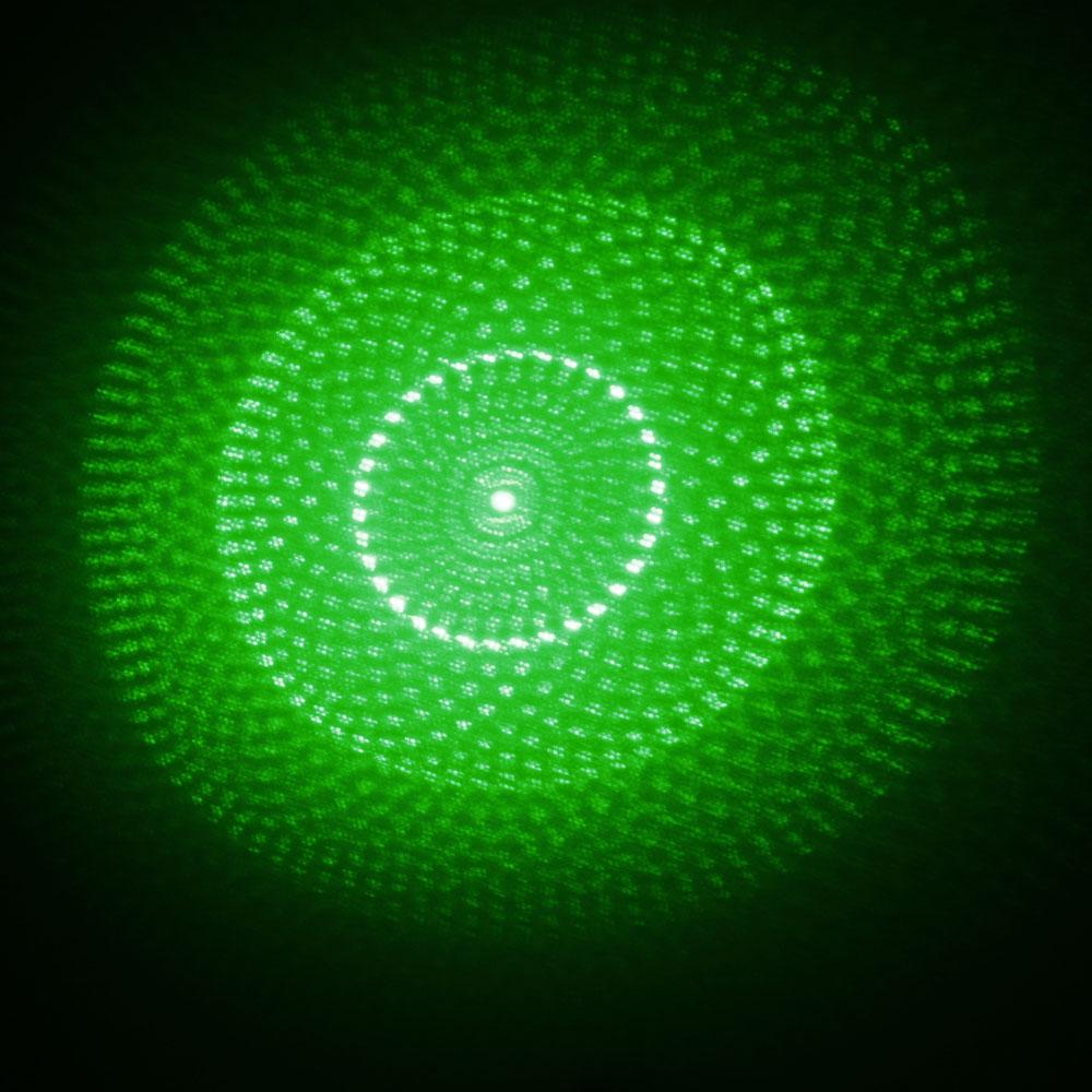 5 In 1 5000mw 532nm Beam Light Green Laser Pointer Pen Kit