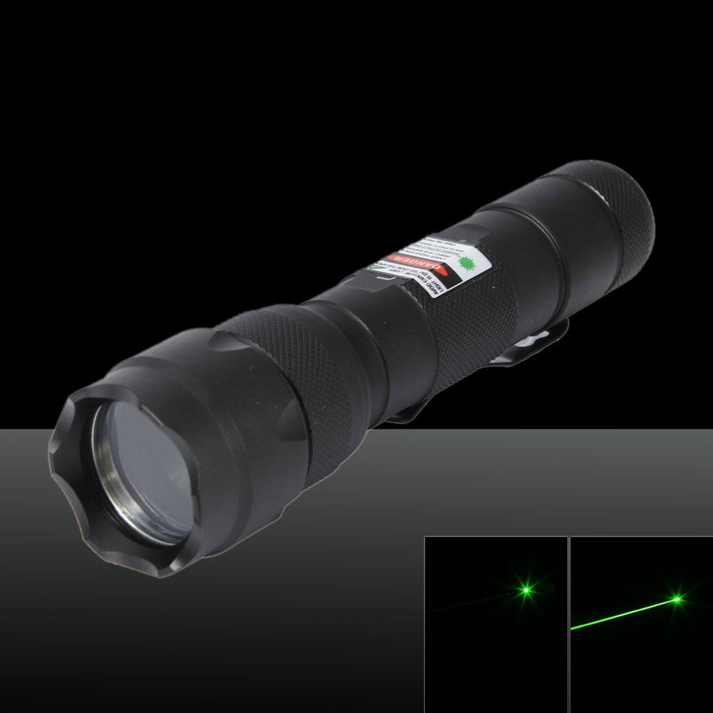 250mW 532nm Green Beam Light Laser Pointer Pen Black 502B