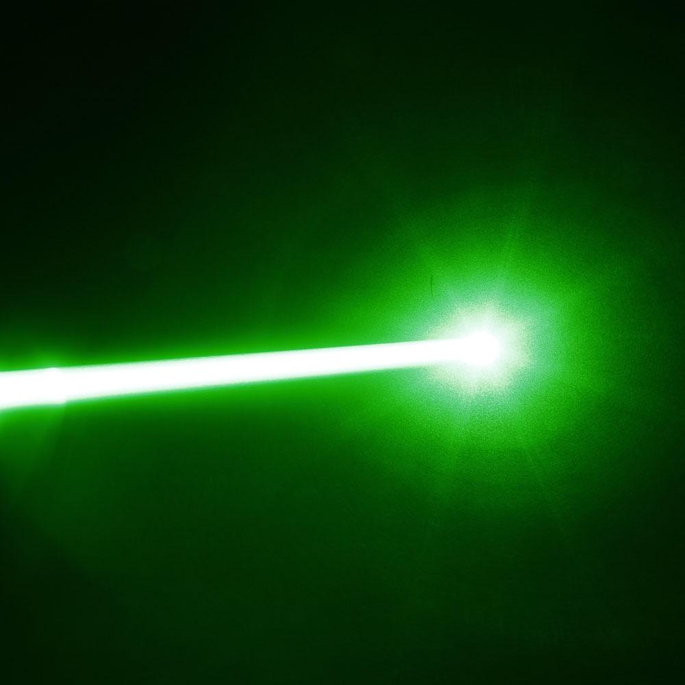 500mw 532nm Green Light Grosso Feixe Focando Laser Pointer