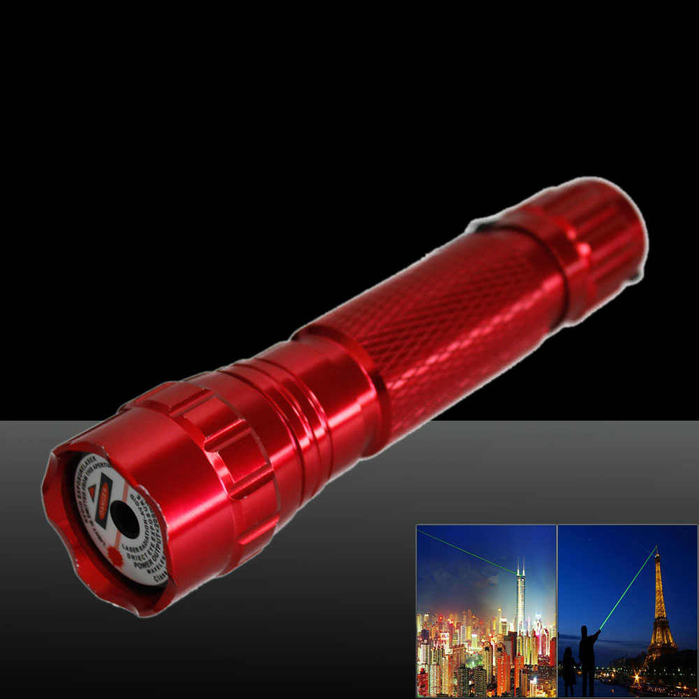 LT-501B 50mw 532nm Green Beam Light Dot Light Style Rechargeable Laser Pointer Pen with Charger Red