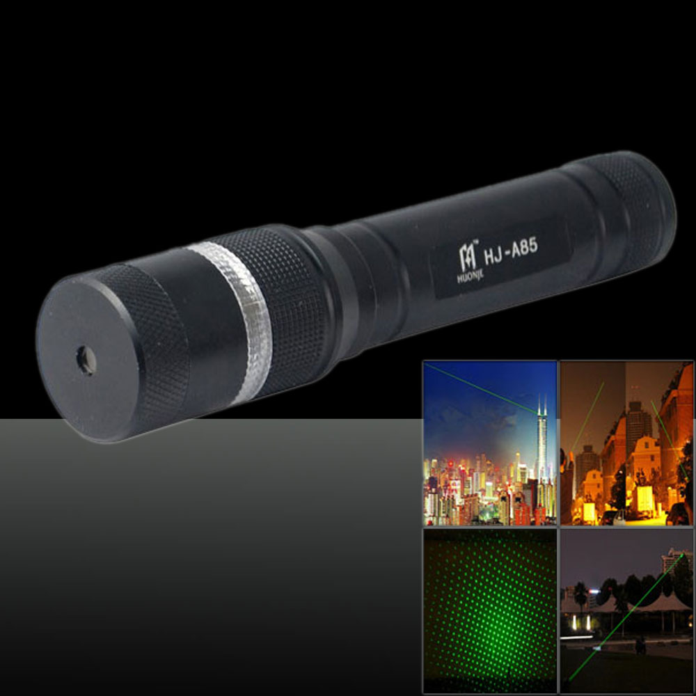 LT-83 400mw 532nm Green Beam Light Single Dot Light Style Noctilucent Stretchable Adjustable Focus Rechargeable Laser Pointer Pe