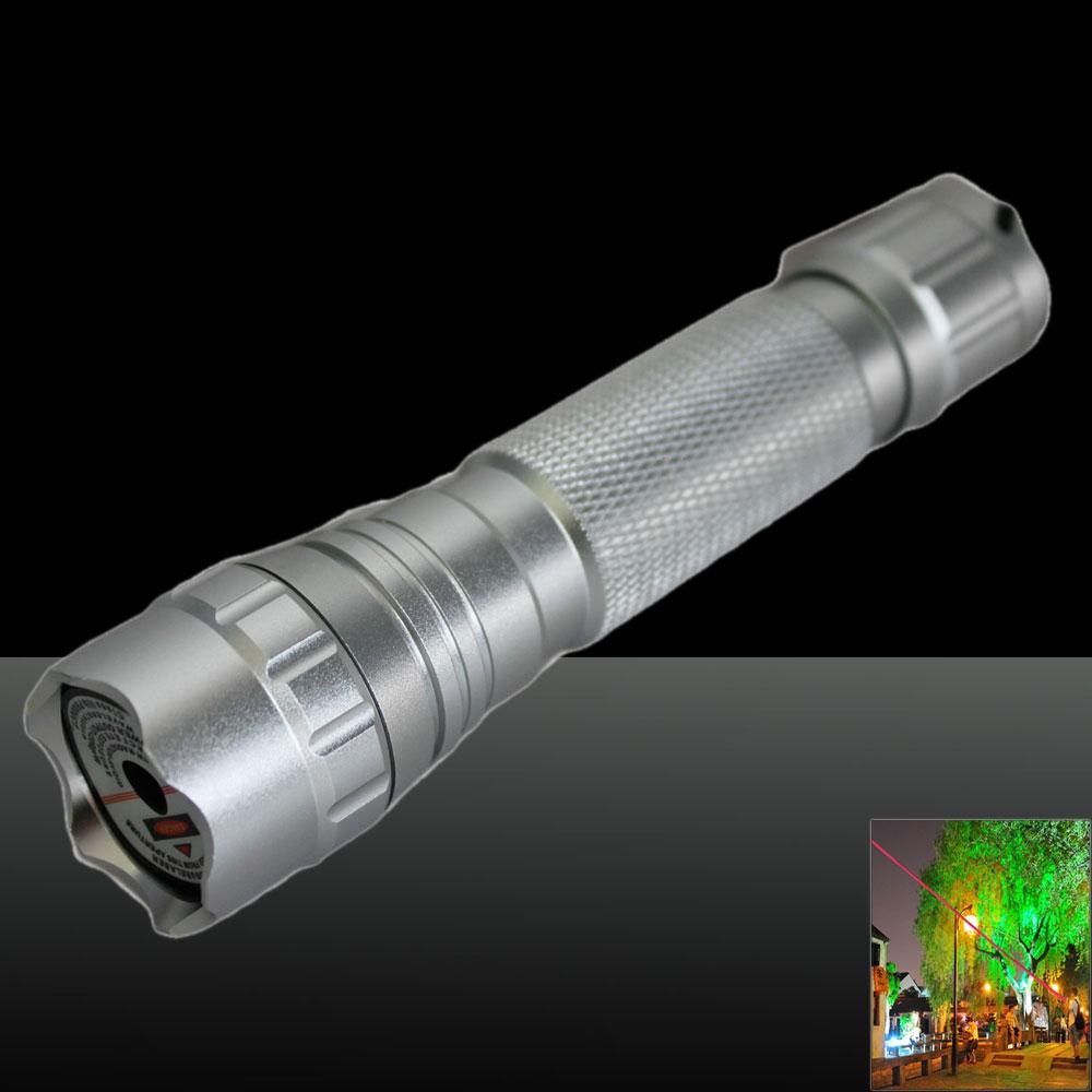 LT-501B 150mw 650nm Red Beam Light Powerful Laser Pointer Pen Set Silver