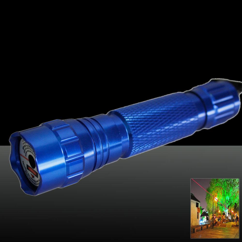 501B 300mW 650nm Red Beam Light Laser Pointer Pen Kit Blue