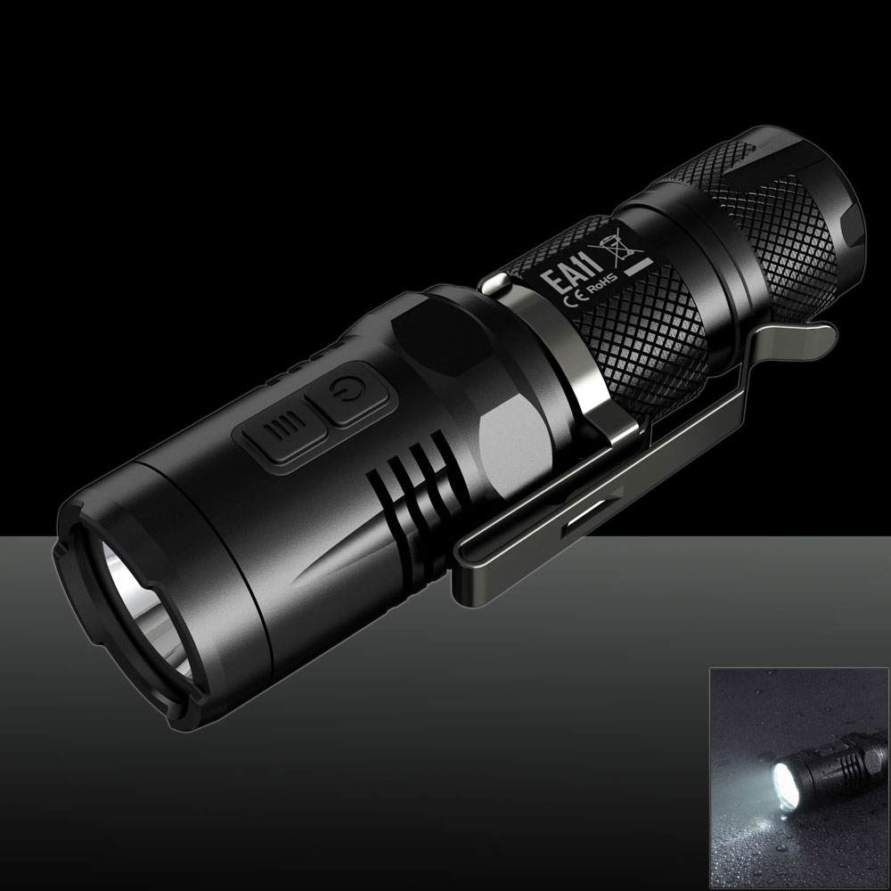 Nitecore 900LM EA11 CREE XM-L2 U2 White Light Strong Light Flashlight