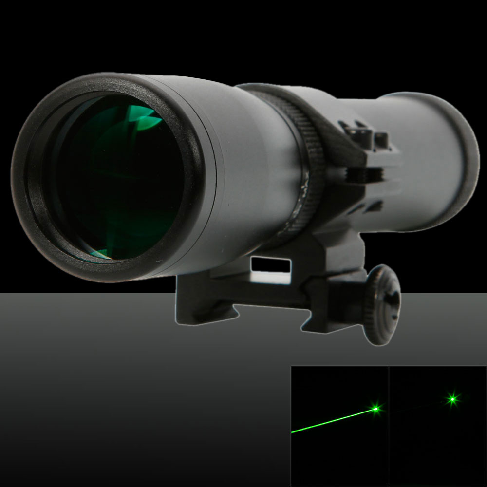 100mW 532nm Green Beam Light Single-point Style Handheld Zoomable Waterproof Laser Pointer (laser bird repellent)