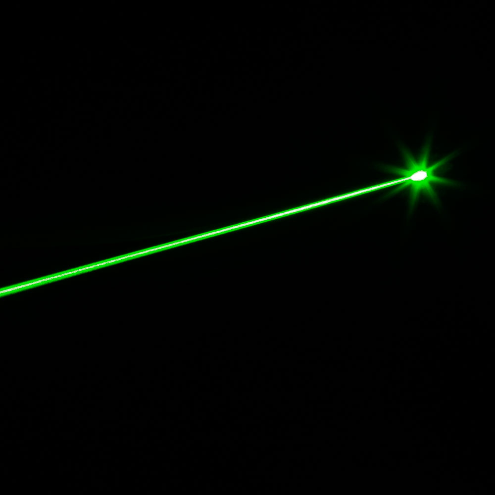 100mw 532nm Green Beam Light Single Point Style Handheld