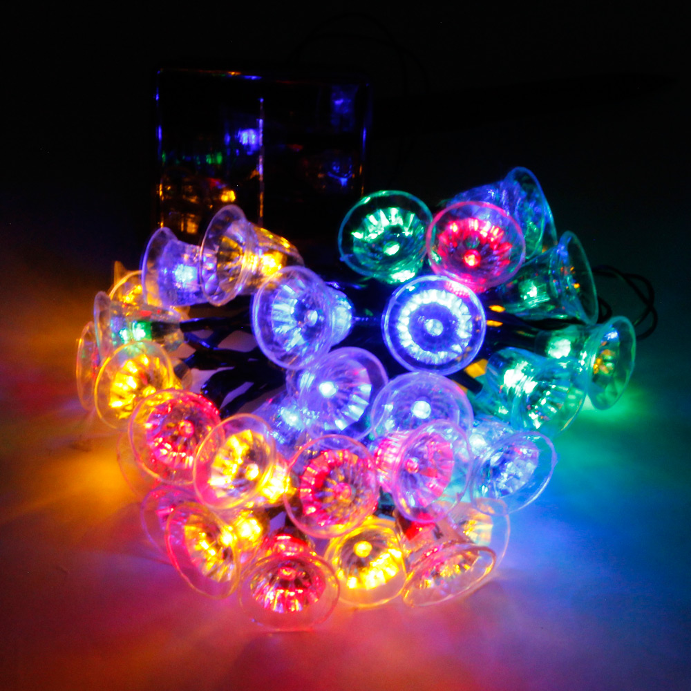 Reviews of MarSwell 30-LED IP65 Waterproof Colorful Light Christmas Solar LED String Light ...