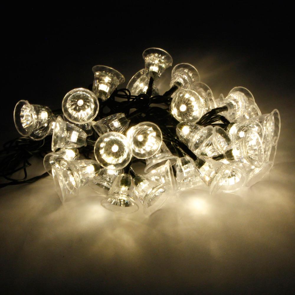 marswell 30 led ip65 wasserdichtes gelbes licht weihnachten solar led schnur licht. Black Bedroom Furniture Sets. Home Design Ideas