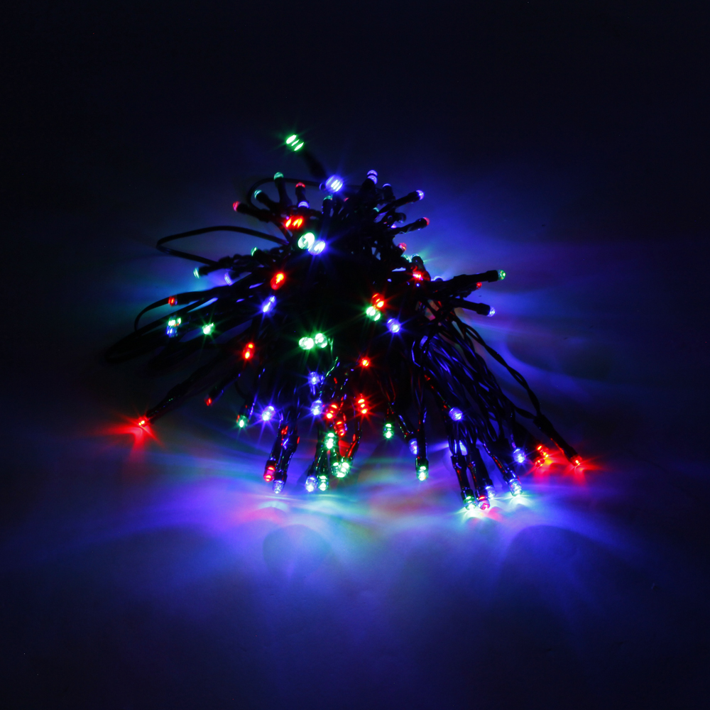 Quality String Lights : High Quality 200LED Waterproof Christmas Decoration Colorful Light Solar Power LED String Light ...