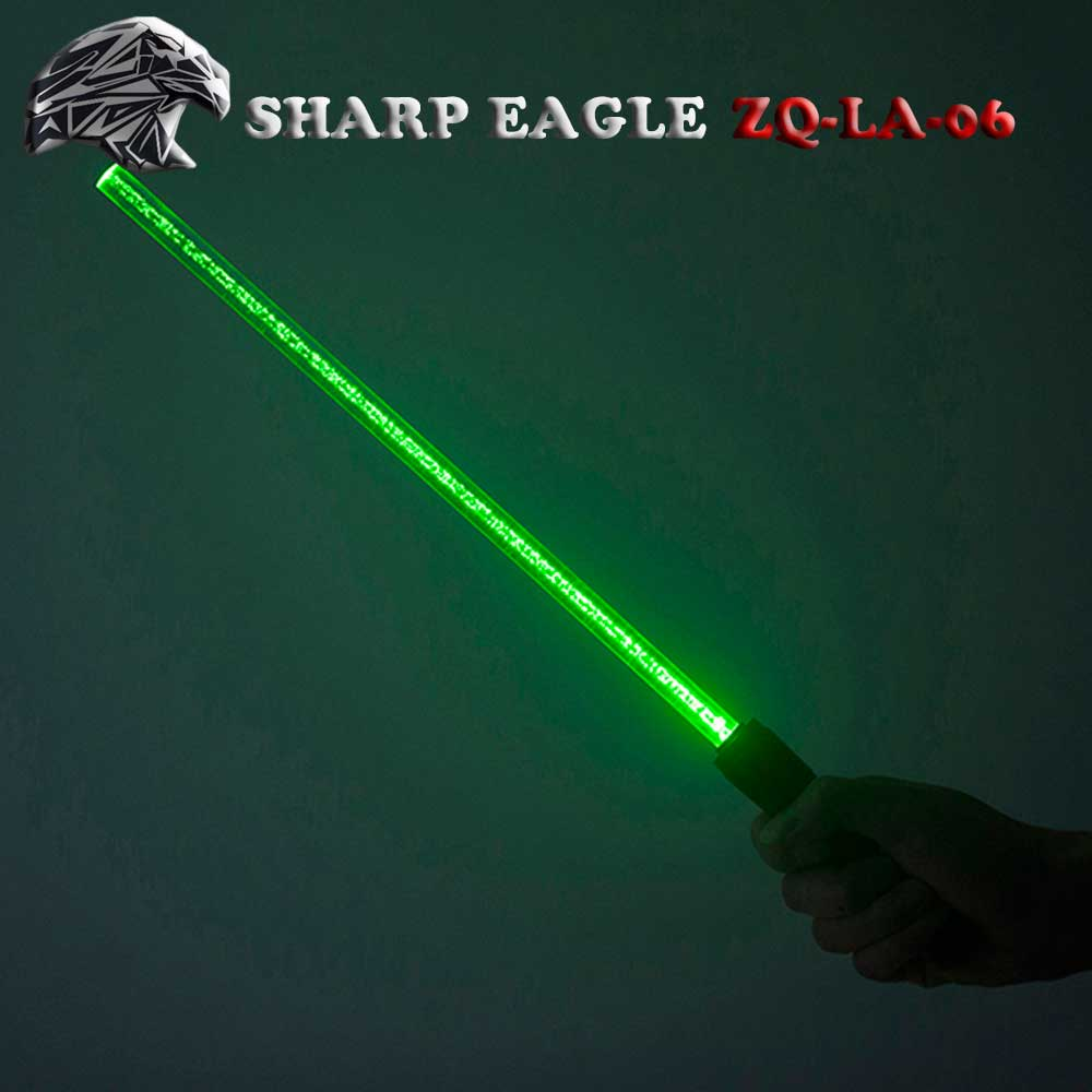 SHARP EAGLE ZQ-LA-05 500mW 532nm Starry Sky Lighting Pattern Green Light Aluminum Laser Pointer Cigarette & Matchstick Lighter B