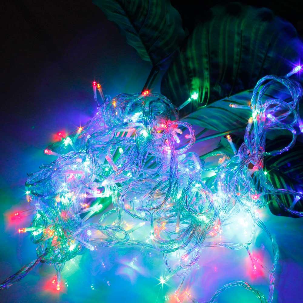 20M 200-LED Christmas Festivals Decoration 8 Working Modes Colorized Light Waterproof String Light (US Standard Plug)