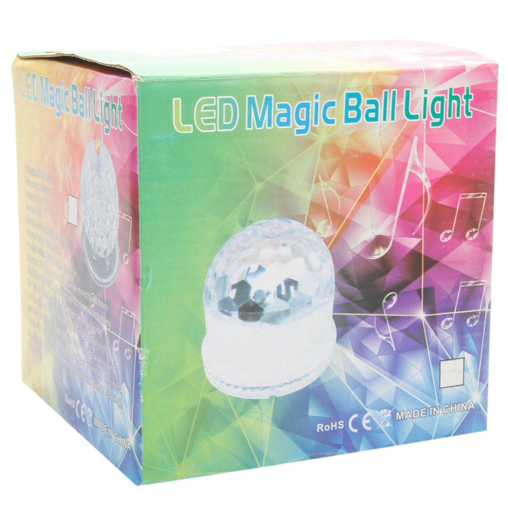 Инструкция Magic Ball Led Lighting