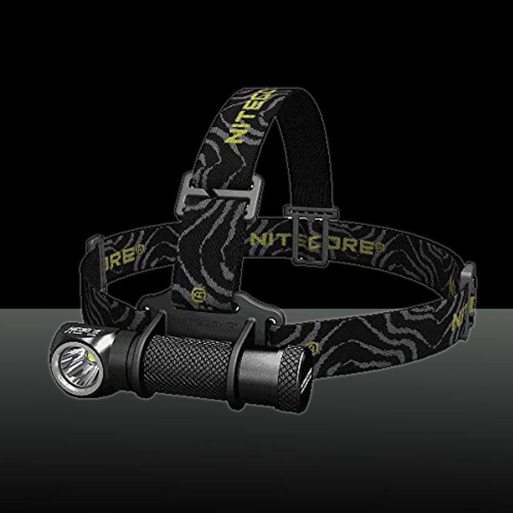 Nitecore 1000LM HC30 CREE XM-L2 U2 White Light LED Headlamp with Clamp Black