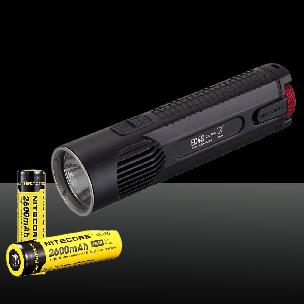 Nitecore 2150LM EC4S CREE XHP50 White Light LED Flashlight Black