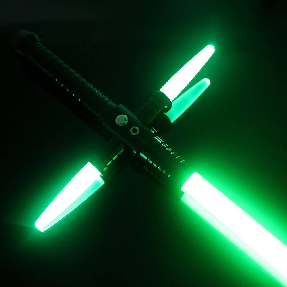 espada láser verde