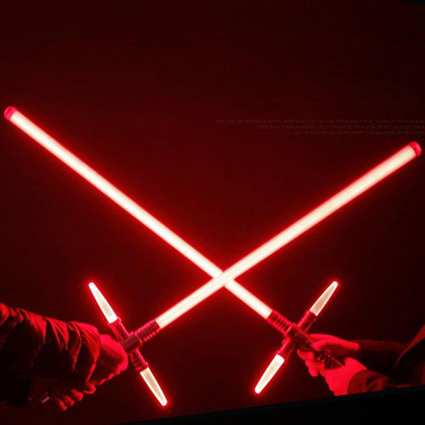 espada laser vermelho