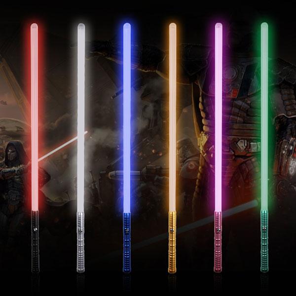 """Newfashioned No Sound Effect 39"""" Star Wars Lightsaber Blue Light Laser Sword Blue"""