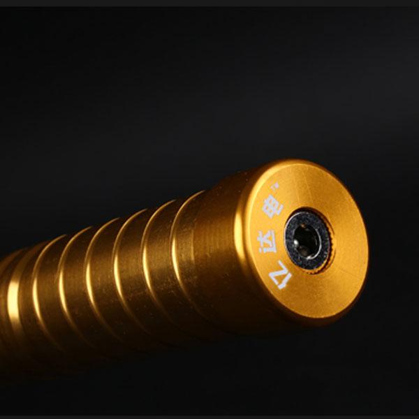 espada láser de oro