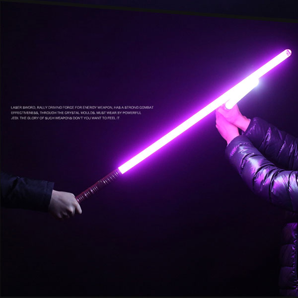 Purple and Blue laser sword