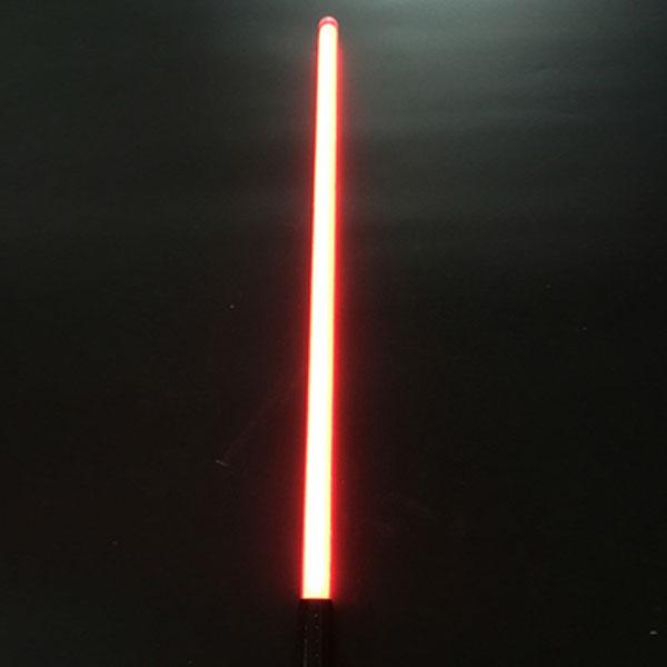 """Newfashioned Sound Effect 40"""" Star Wars Lightsaber Red Light Laser Sword Black"""