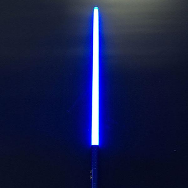 """Newfashioned Sound Effect 40"""" Star Wars Lightsaber Blue Light Laser Sword Blue"""