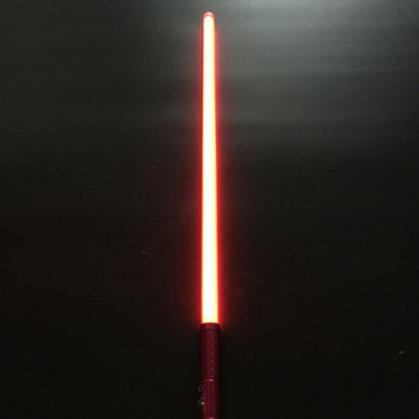 """Newfashioned Sound Effect 40"""" Star Wars Lightsaber Red Light Laser Sword Red"""