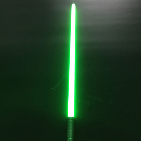 "Newfashioned Sound Effect 40"" Star Wars Lightsaber Green Light Laser Sword Green"