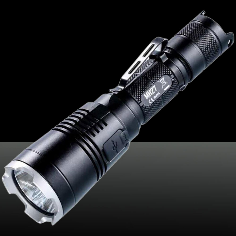 NITECORE 1000LM MH27 CREE XP-L HI V3 Strong Light LED Flashlight Black