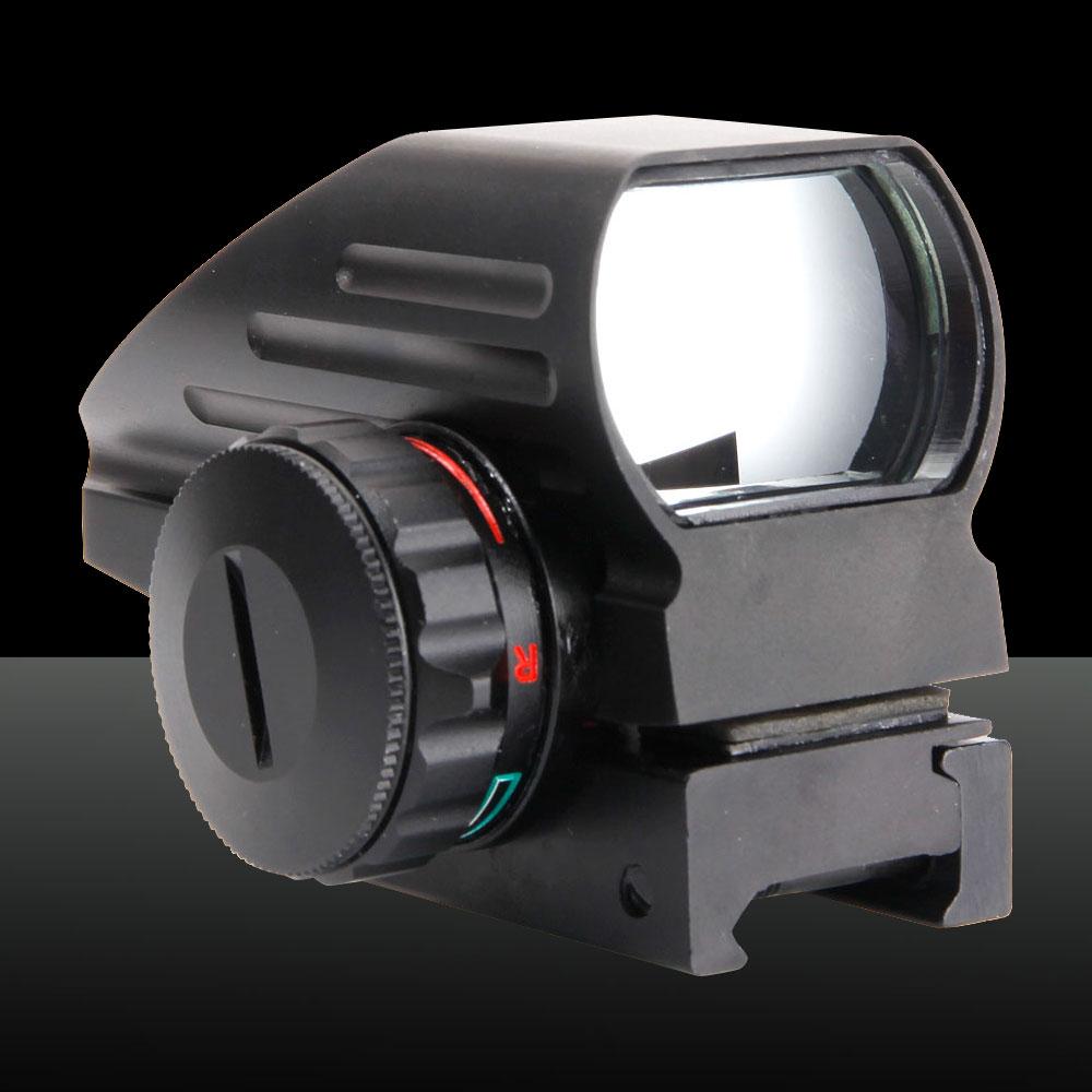 GT-HD-103 Electrodeless Gear Optics 1X Magnification Aluminum Alloy Electro Laser Sight Black