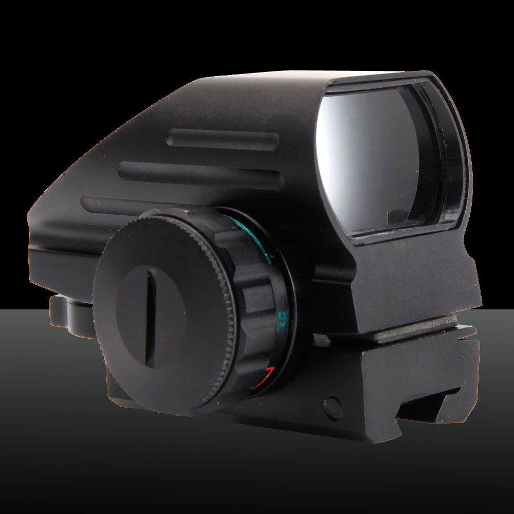 GT-HD-103A Electrodeless Gear Optics 1X Magnification Aluminum Alloy Electro Laser Sight Black