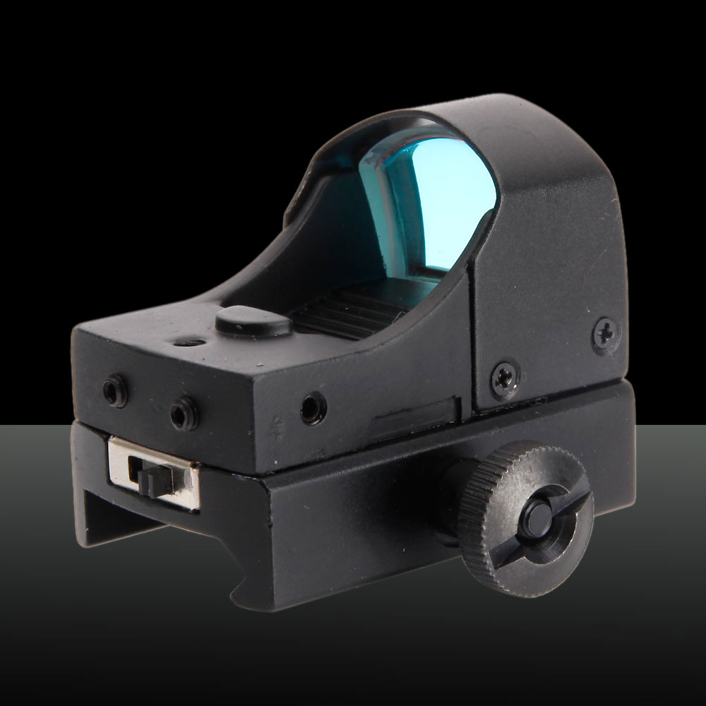 2-Mode Gear Optics Aluminum Alloy Electro Laser Sight Black