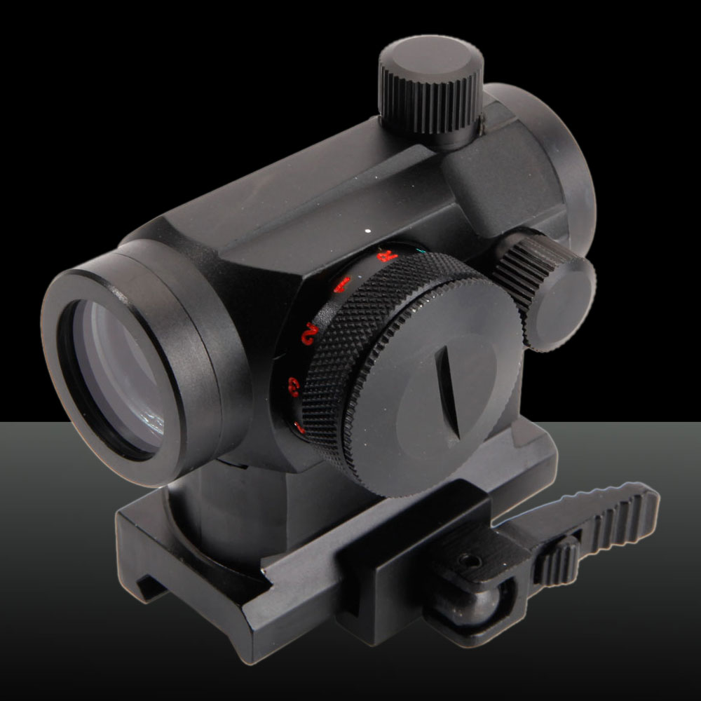 Battery-operated Micro Optics Dot Sight Laser Sight Black