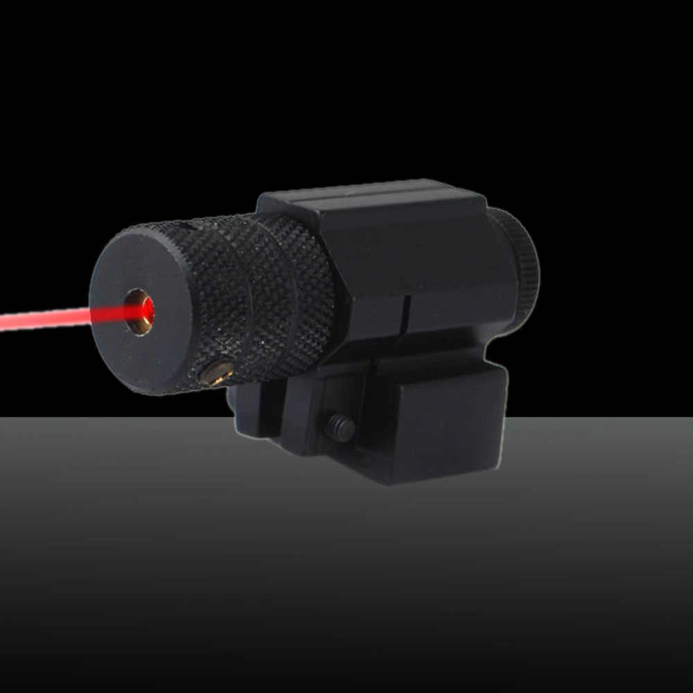 U`King ZQ-8812 650nm 5mW Red Light Laser Sight Kit Black