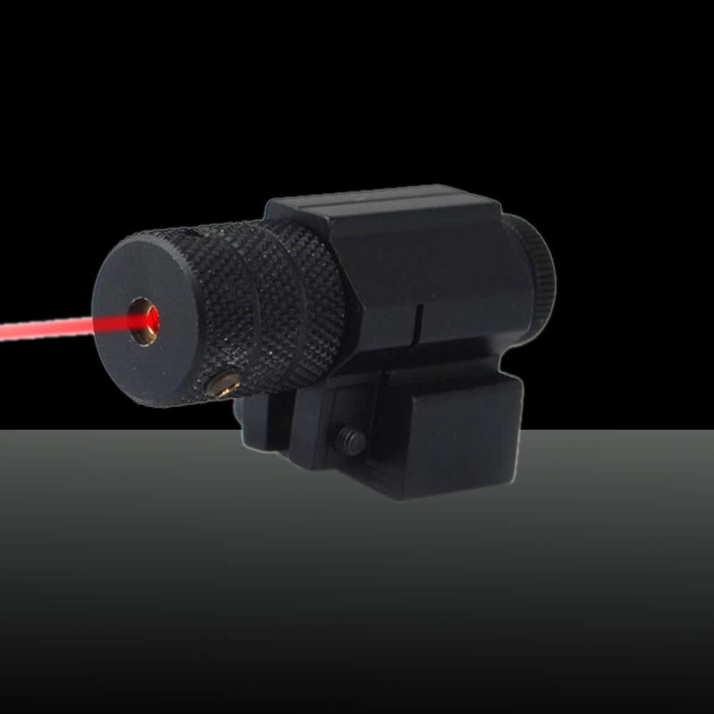 U`King ZQ-8812 650nm 100mW Red Light Laser Sight Kit Black