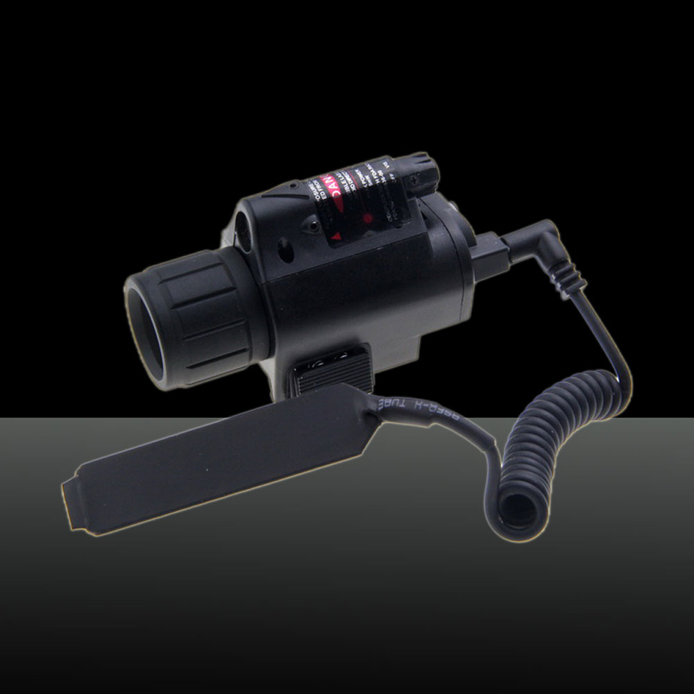 U`King ZQ-MZ06 5mW Red & White Dot M6 Laser Sight Kit Black