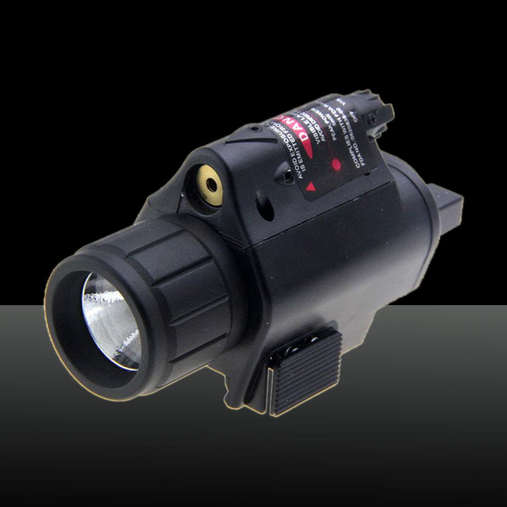 U`King ZQ-MZ06 100mW Red & White Dot M6 Laser Sight Kit Black