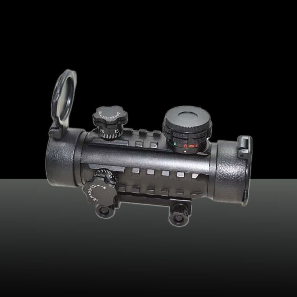 UKing ZQ-MZ08 Green & Red Dot Optional Tactical 1X30 Shotgun Holographic Laser Sight Black