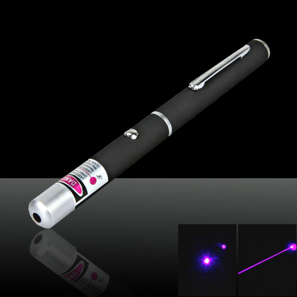 5mW 405nm Beam Light Purple Laser Pointer Pen