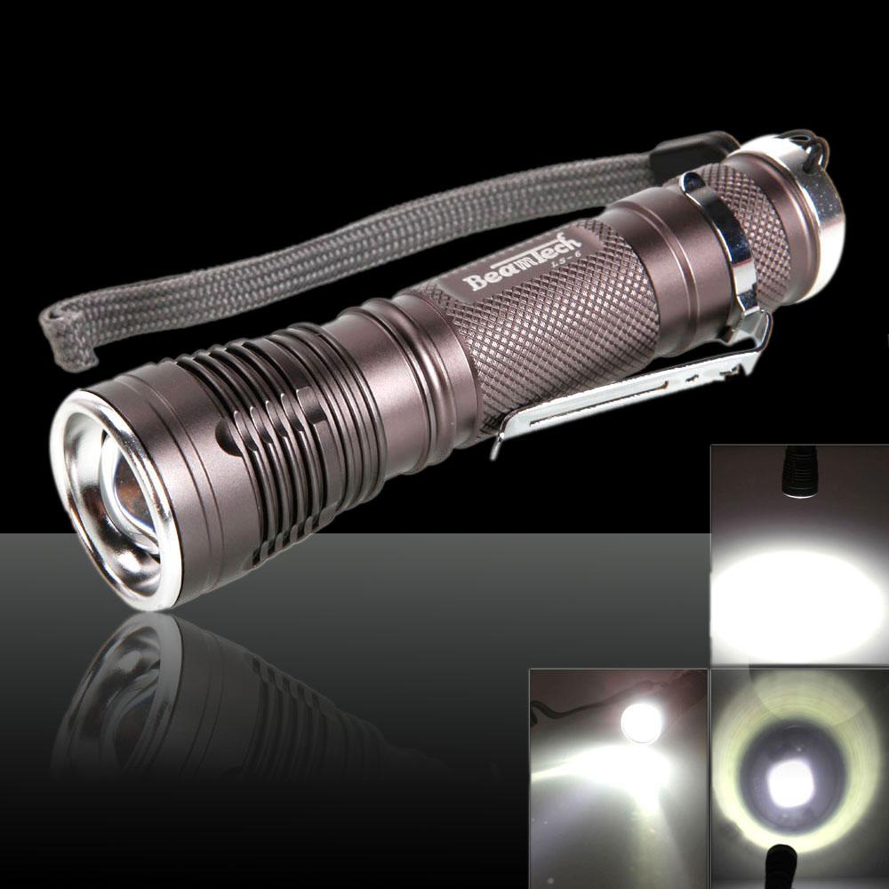 Beamtech-LS6 CREE-T6 1000 Lumens 10W 3.7-4.2V 1Led 5Modes ...