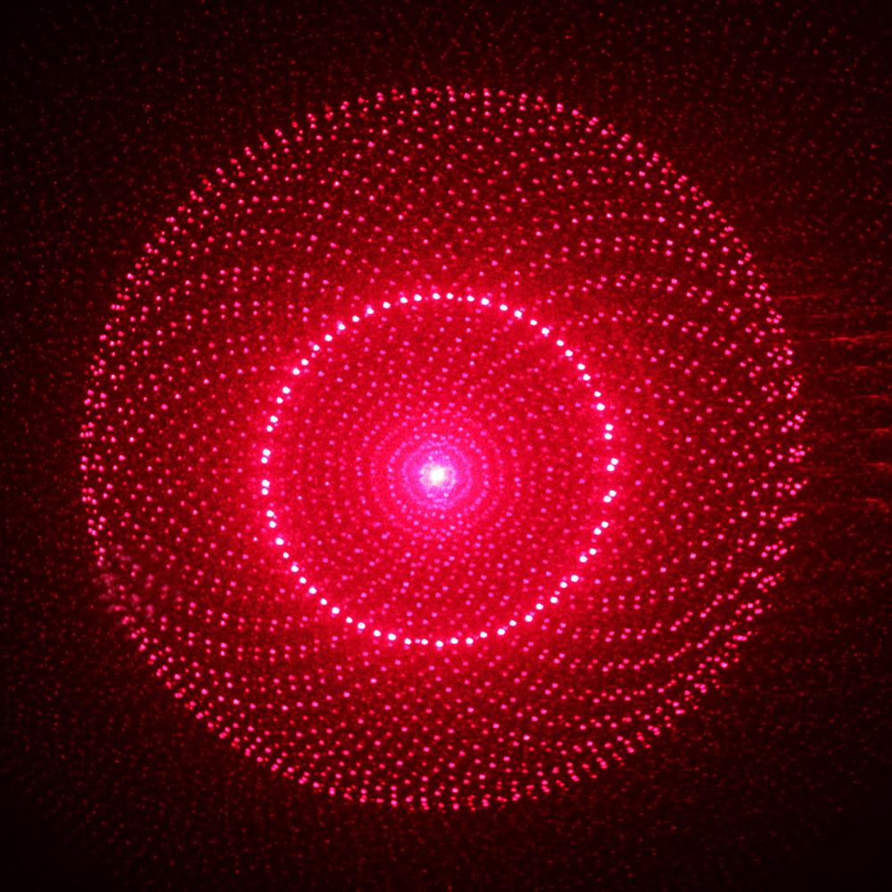 300mW Dot Pattern / Starry Pattern / Multi-Patterns Focus