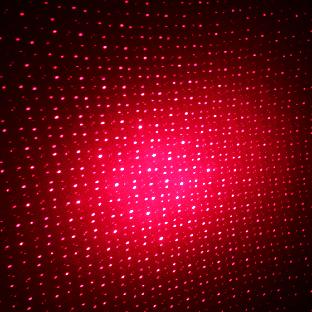 50mw Middle Open Starry Pattern Red Light Naked Laser