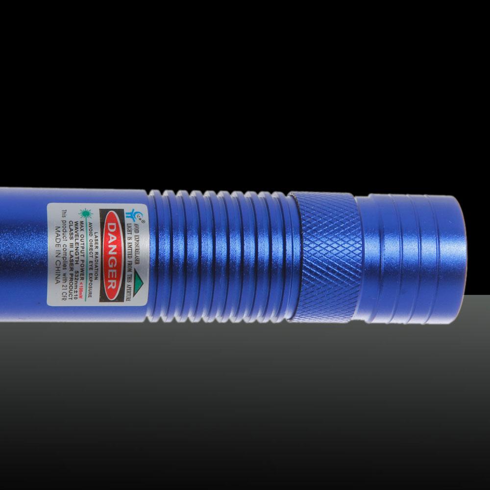100mw 532nm gr ne lichtstrahl licht laser zeiger feder mit 18650 akku blau. Black Bedroom Furniture Sets. Home Design Ideas