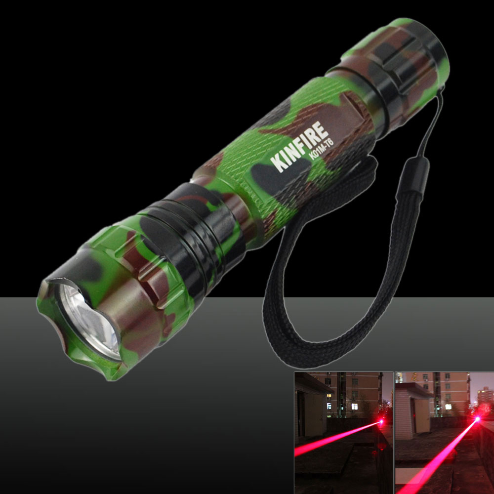 150MW 650nm Flashlight-Shaped Red Light Laser Pointer Camouflage